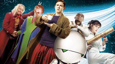 مشاهدة فيلم The Hitchhiker's Guide to the Galaxy (2005) مترجم HD