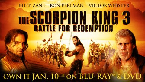 مشاهدة فيلم The Scorpion King 3: Battle for Redemption (2012) مترجم HD اون لاين