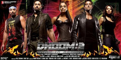 film dhoom 2 motarjam