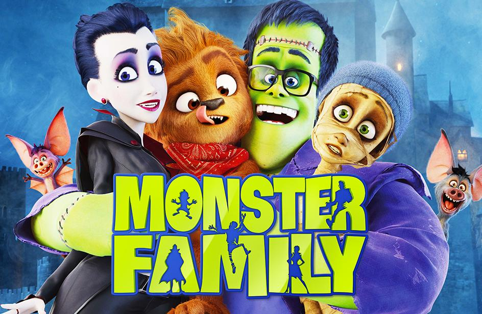 مشاهدة فيلم Monster Family (2017) مترجم HD اون لاين